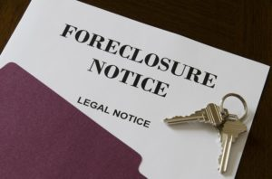 Three types of foreclosures foreclosure notice paper