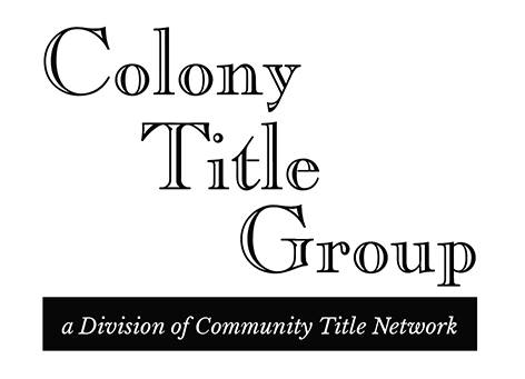 Colony Title Group Logo