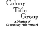 Colony Title Associates